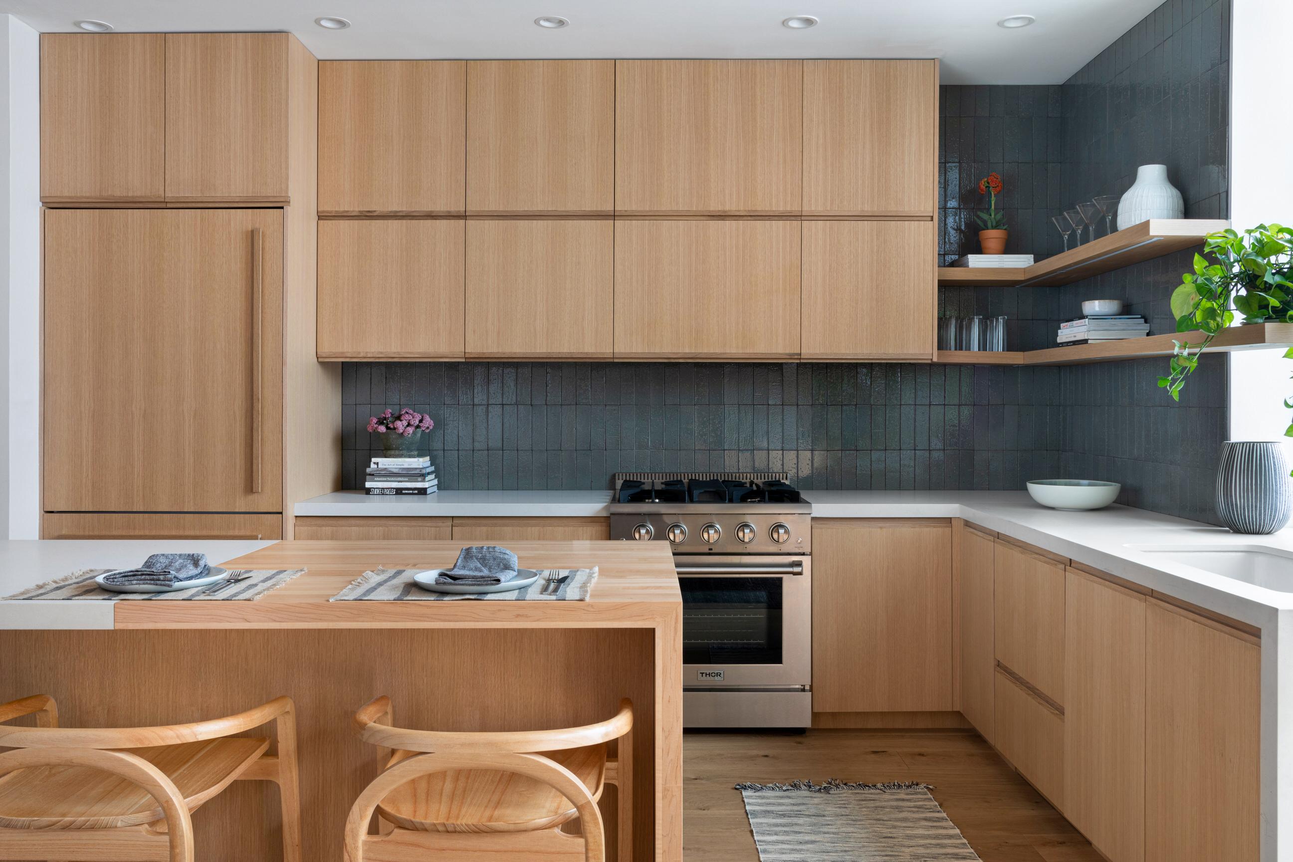 Brooklyn kitchen renovation Stewart Schafer interior design