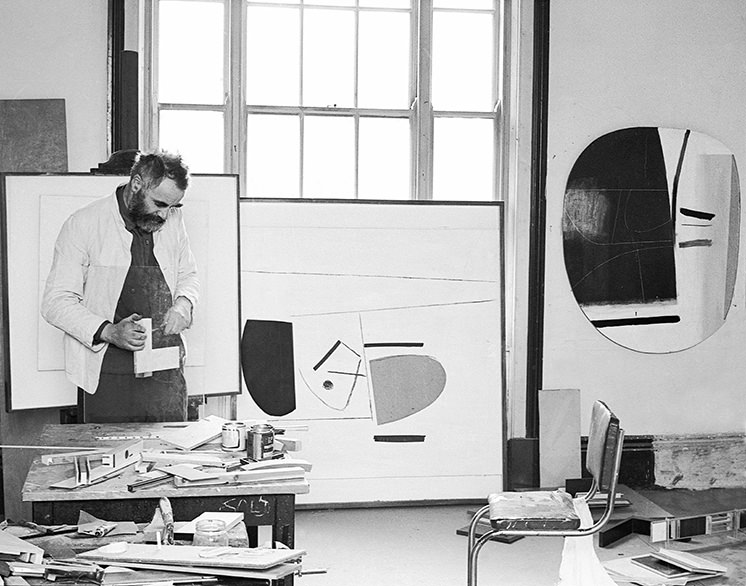 Victor Pasmore interior design inspiration