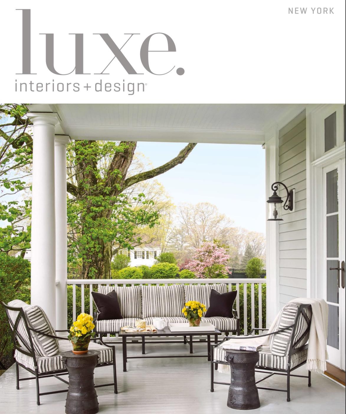 Luxe interiors design stewart schafer for Luxe interieur design