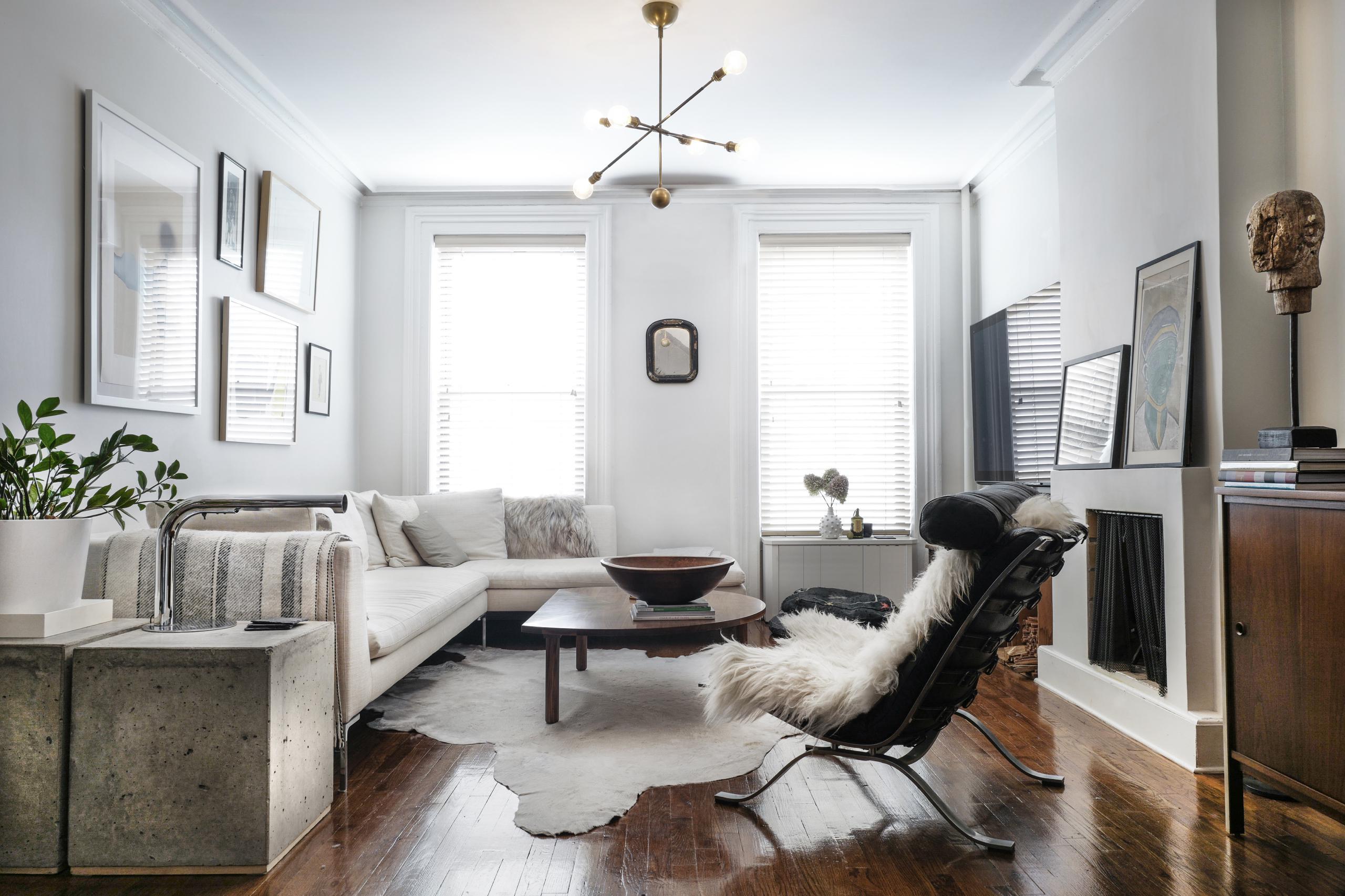 Stewart schafer selected work brooklyn townhouse for Townhouse flooring ideas